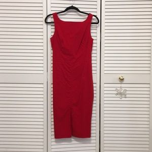 Red Sheath Dress by Express size 9/10